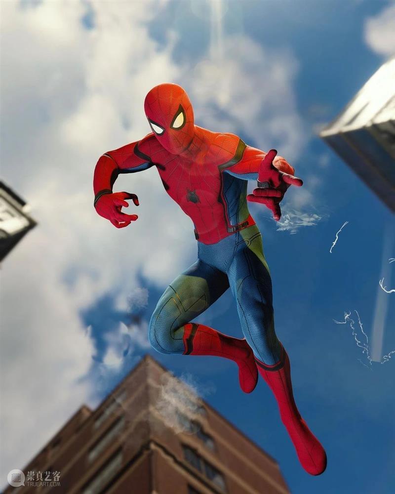 蜘蛛侠太帅了吧,用3D效果制作出了他所有的动作 !收藏 ~  学美术,看▷ 蜘蛛侠 效果 动作 END 崇真艺客