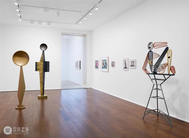 展览现场:大卫·史密斯个展「跟随我」@ 豪瑟沃斯纽约69街空间 大卫·史密斯 豪瑟 沃斯 个展 纽约 69街 空间 现场 Smith 底特律艺术学院 崇真艺客