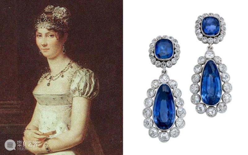 """""""拿破仑皇家历史的见证"""":拿破仑义女珠宝珍藏 珠宝 拿破仑 义女 皇家 历史 佳士得 日内瓦 史蒂芬妮 博阿尔内 Stéphanie 崇真艺客"""