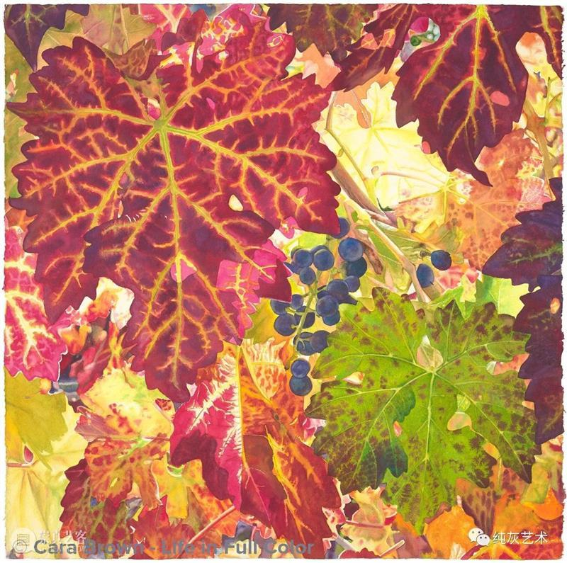 阳光拂过果树 阳光 果树 美国 画家 Brown 色彩 气息 空气 水果 作品 崇真艺客