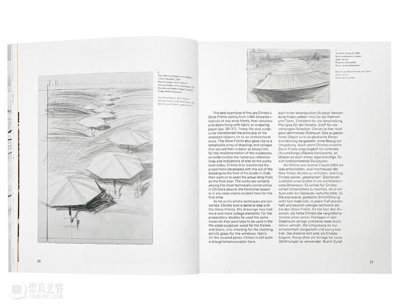 昙花一现的自由、永恒和荒谬 浅谈克里斯托 克里斯托 艺术家 PROJECT 大地 上海 晴雨 雨后 观展 手稿 作品 崇真艺客