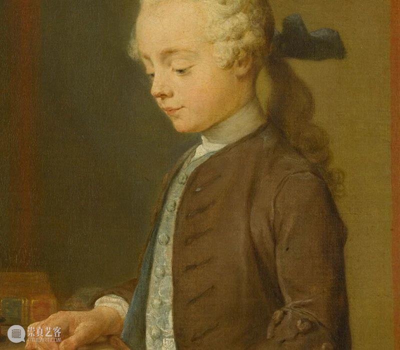 主题参观   博物馆里的孩子们 博物馆 孩子们 主题 卢浮宫博物馆 大孩子 小孩子们 童心 手执樱桃的小女孩肖像画 约翰 拉塞尔 崇真艺客