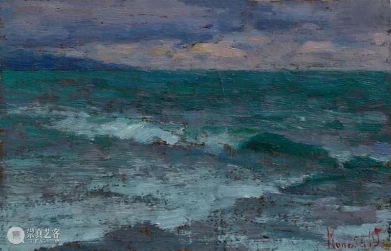 油画风景丨这颜色,这感觉,也是没谁啦 ~ 油画 风景 颜色 感觉 END 崇真艺客