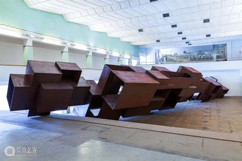 常青画廊   JINGART艺览北京「安东尼·葛姆雷Antony Gormley」 北京 JINGART艺 安东尼 Gormley 画廊 常青画廊 展位 葛姆雷 卡普尔 Kapoor 崇真艺客