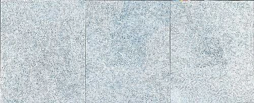 JINGART艺览北京 草间弥生《无限之网》系列绘画 草间弥生 JINGART艺 北京 系列 无限之网 Kusama 丙烯 厘米 内心 强迫性 崇真艺客