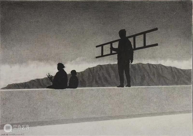 展览预告「黑之景2   伊德尔作品展 」   YIBO GALLERY 伊德尔 作品展 GALLERY 黑之景 印度 小镇 盲人 镇子 广场 你的话 崇真艺客