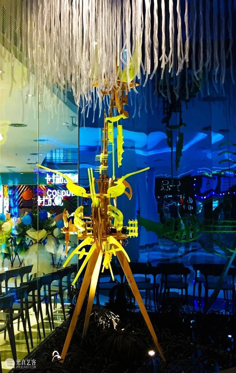 齐雯&石英   用动态雕塑说话 齐雯 石英 动态 雕塑 作品 上海 艺术 展位 校园 本科 崇真艺客