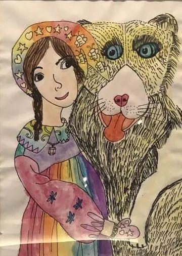快乐在中间 | 画画的孩子们(二) 中间 孩子们 建筑里 艺术 读者们 小朋友们 为三 小朋友 粉笔 锈板 崇真艺客