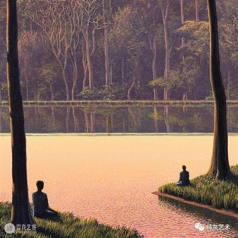古巴在世最贵的艺术家作品 古巴 艺术家 作品 浪漫主义 Tomás 画作 家乡 荒野 林场 全景 崇真艺客