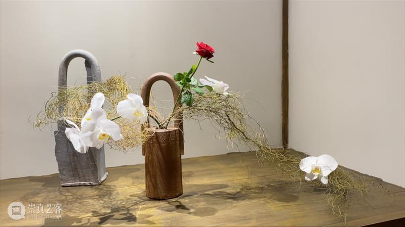 离尘. 短片   给花穿上陶瓷衣 短片 陶瓷 索卡 陆斌 个展 意味 形式 Form NudeFlower 形式感 崇真艺客