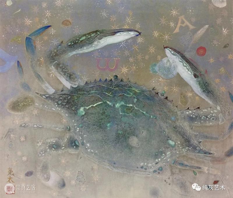 飞禽走兽花鸟鱼虫 飞禽走兽 花鸟 鱼虫 日本 水彩 画家 幸亮太 RYOTA 笔触 动态 崇真艺客