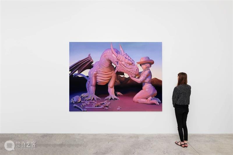 展览现场 艾玛·斯特恩(Emma Stern)「天,当牛仔女孩的感觉真棒」@ 阿尔敏·莱希巴黎 艾玛·斯特恩 莱希 巴黎 Stern 牛仔 女孩 感觉 阿尔敏 现场 店家 崇真艺客