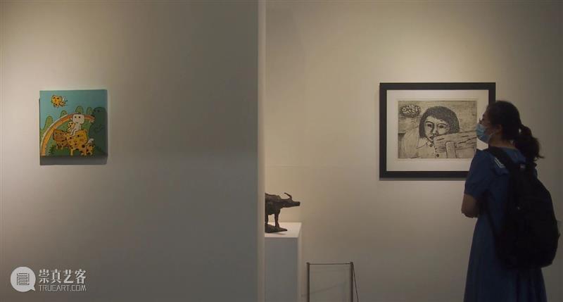 山艺术展览开幕   小憩时间 时间 艺术 北京 林正 空间 现场 艺术家 熊秉明 賀慕群 周思聪 崇真艺客