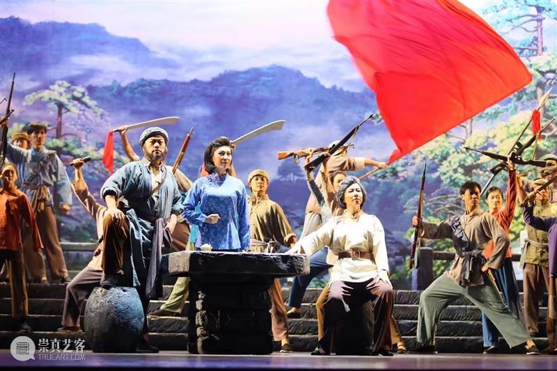 张桂梅最爱的《红梅赞》即将在北京天桥艺术中心唱响 红梅赞 北京天桥艺术中心 张桂梅 红岩 红梅 冰霜 脚下 三九严寒何所 歌剧 江姐 崇真艺客