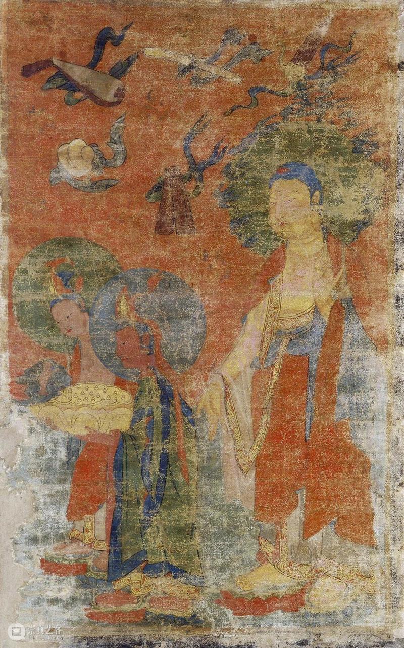 馆藏中国:流落俄国的西夏文物(绘画部分) 崇真艺客