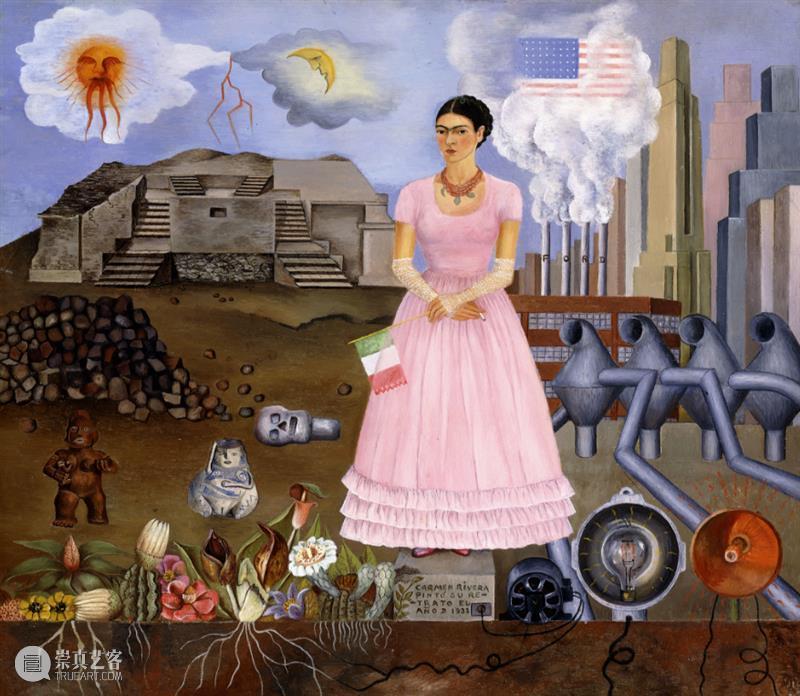 【IFA-艺术赏析】Frida Kahlo    我不画梦,我只画我的现实 现实 Kahlo 艺术 IFA 墨西哥 画家 画像 作品 内心 社会 崇真艺客