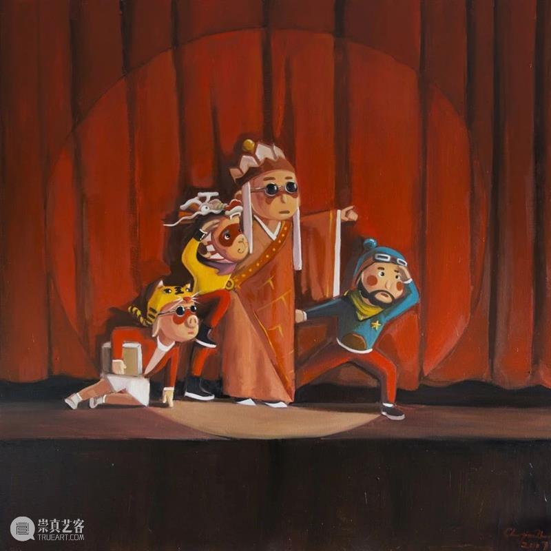 新潮动力|传统当代化:唤醒艺术新意 艺术 动力 传统 新意 新潮动力 木星 中心 木星艺术国际画廊季)正在木星美术馆 陈斯嘉 陈建周 崇真艺客