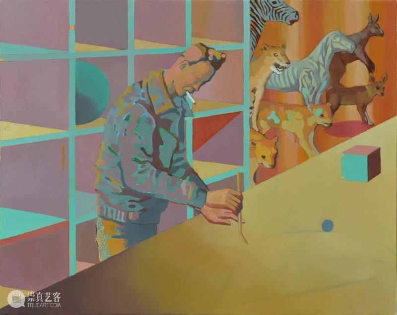 赛麟推介   内景:魏志成的艺术世界 内景 魏志成 艺术 世界 赛麟 科大艺术中心 当时 艺术家 气息 一个人 崇真艺客