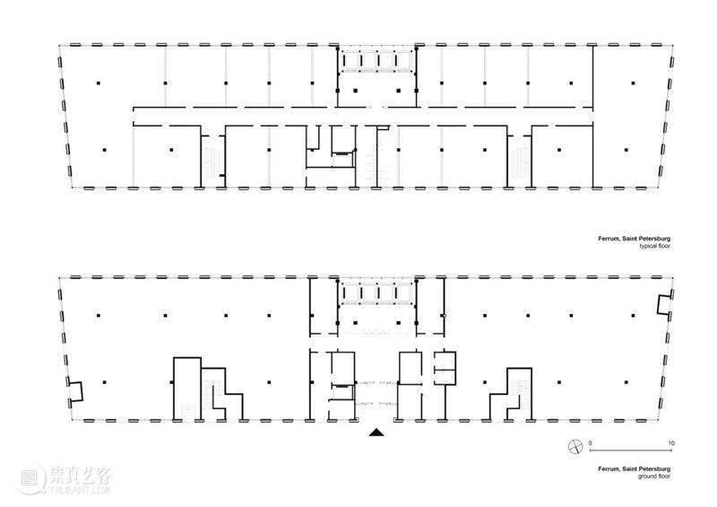 """""""金属篮子"""",Ferrum 1 办公大楼 / Tchoban Voss Architekten Ferrum 办公大楼 金属 篮子 Ivanov 圣彼得斯堡 Polustrovo 街区 俄罗斯 工厂 崇真艺客"""