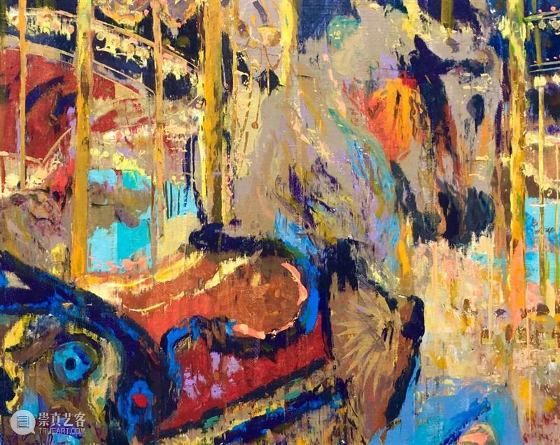 M50展览   「陆离斑驳」张宁飞作品展   梵赫德艺术空间 张宁飞 作品展 梵赫德 艺术 空间 时间 OPENING 日期 地点 VENUE 崇真艺客