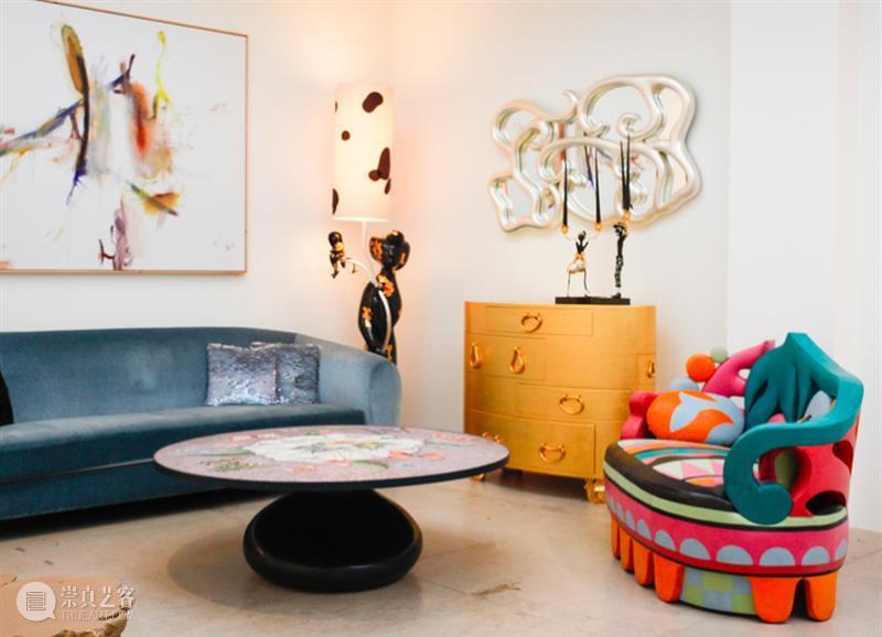 三渊SHARE 古怪又诗意,能让人感到自由的家居设计 诗意 三渊SHARE  家居 LIFE and ART here Mattia Bonetti 艺术 崇真艺客
