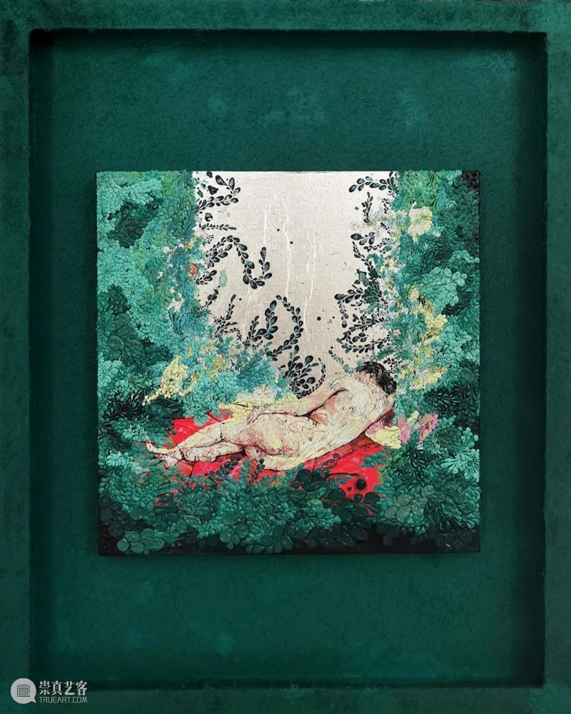 问象青年艺术家推荐 宋赫 宋赫 青年 艺术家 一段时间 主色调 红色 画面 桃红 时间段 附近 崇真艺客