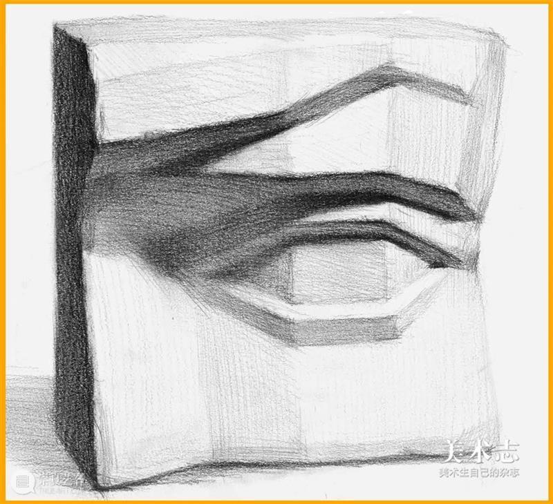 通过【石膏眼睛】学习了解眼睛的结构和特征,千万不要错过 ! 石膏 眼睛 特征 结构 素描 头像 重点 同学们 心灵 窗户 崇真艺客