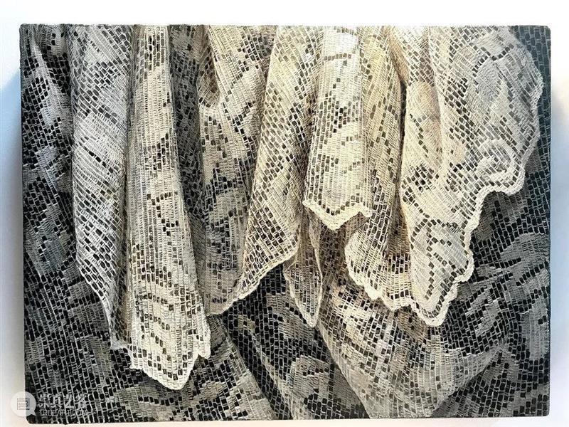 她喜欢画纱布,没点耐心还真是做不到 ! 纱布 END 崇真艺客
