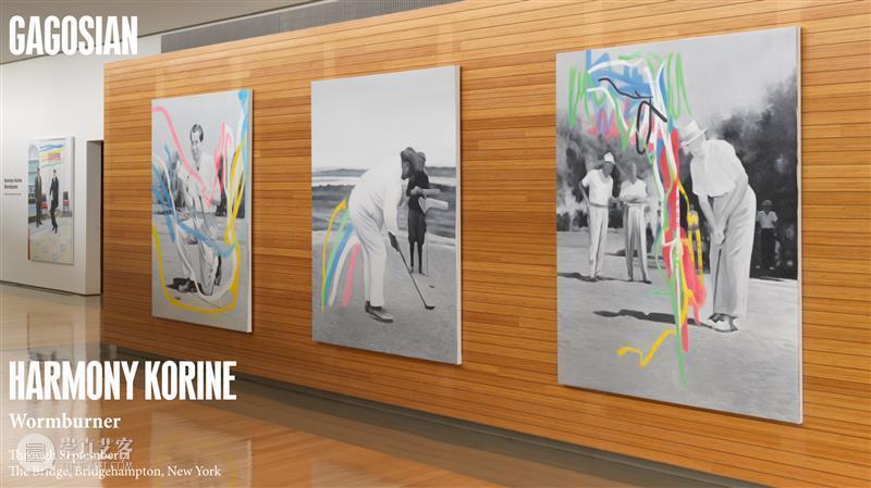 打高尔夫的美国总统|Harmony Korine Korine 美国总统 高尔夫 高古轩 艺术家 Harmony 哈莫尼·科林 人们 细节 与此同时 崇真艺客