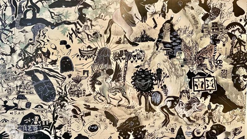 故宫神兽   小画师共创兽谱涂鸦,全新系列工坊上线! 故宫 画师 兽谱 神兽 系列 工坊 神兽世界 以来 SWCAC 小燕画院 崇真艺客