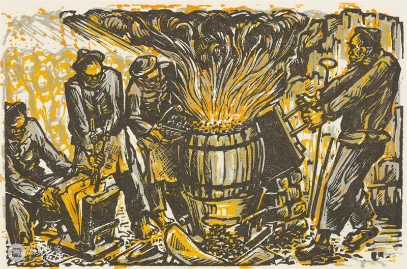 现在新的,年青的,没有名的作家的作品站在这里了 |浙江版画百年 · 1910年代-1940年代 版画 作家 作品 浙江 浙江省立第一师范学校 教员 李叔同 理念 乐石社 漫画会 崇真艺客