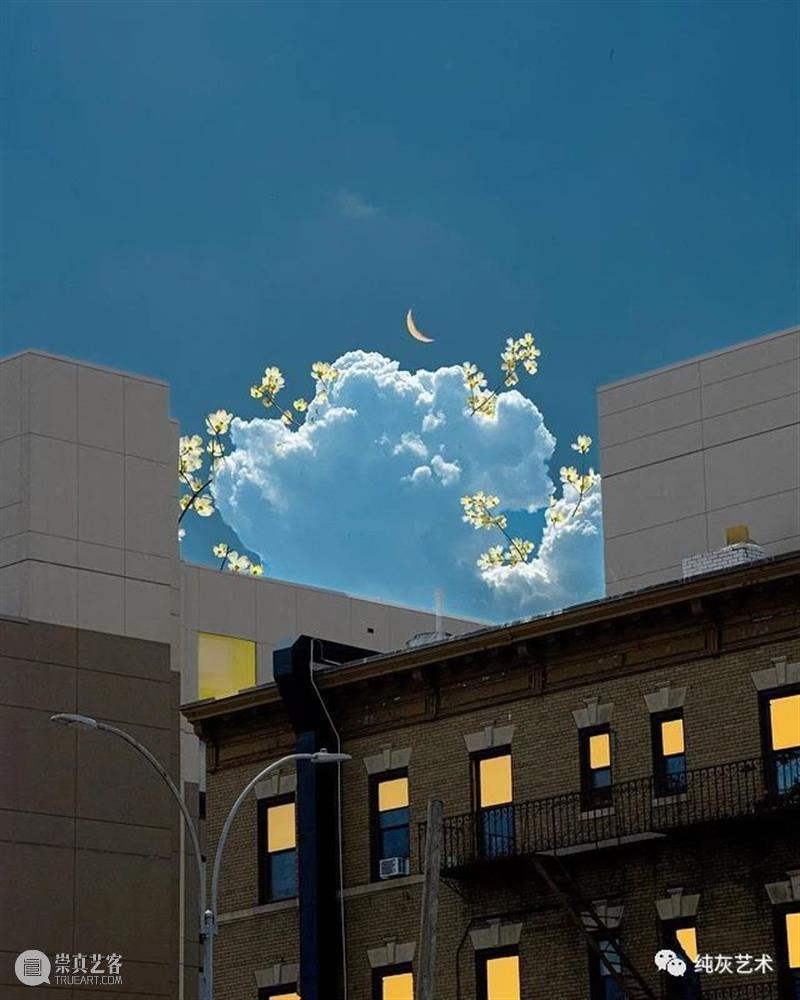 把梦想照进现实 梦想照进现实 纽约 韩裔 摄影师 tinycactus 超现实主义 云彩 身边 风景 云层 崇真艺客