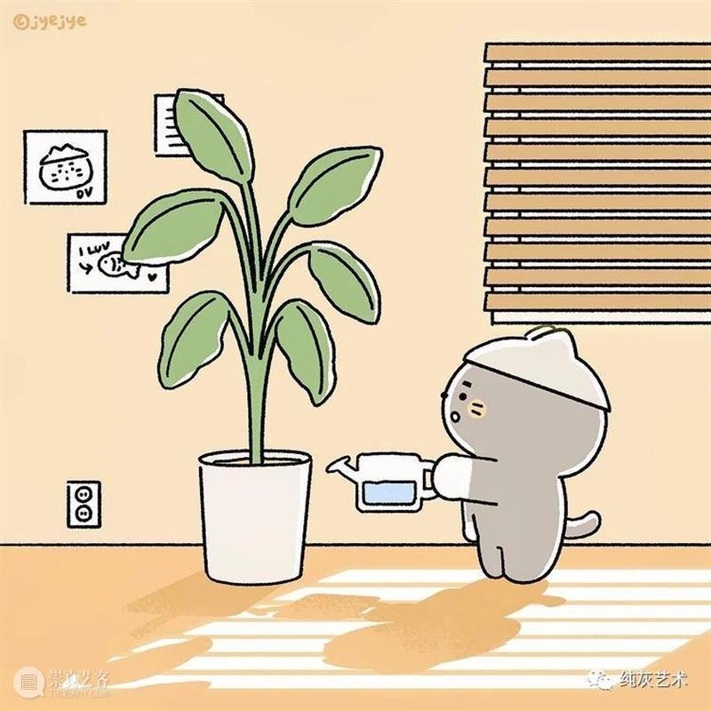 生活可可爱爱 生活 插画师 jyejye art 作品 色彩 画风 主角 小兔子 往期 崇真艺客