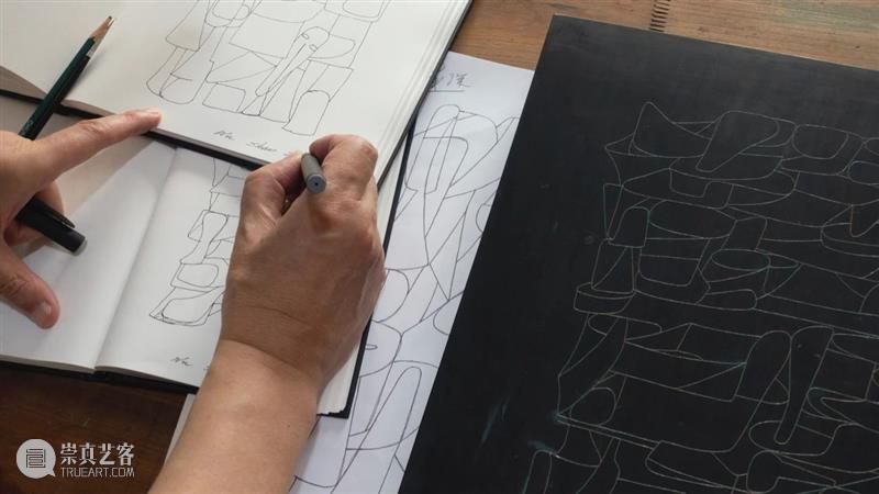 万一展览 | 线的轨迹 轨迹 社交 距离 paintings展期Duration 展厅 古代 场域 江南 文人 明式家具 崇真艺客