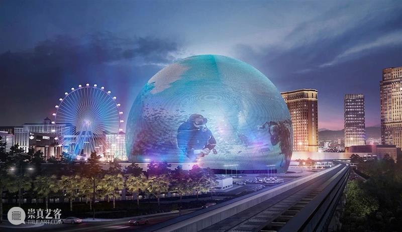 耗资116亿,拉斯维加斯建造世界最大球形沉浸式体验中心 世界 拉斯维加斯 球形 中心 奇迹 世界上 沙漠 从一 铁路 前哨站 崇真艺客