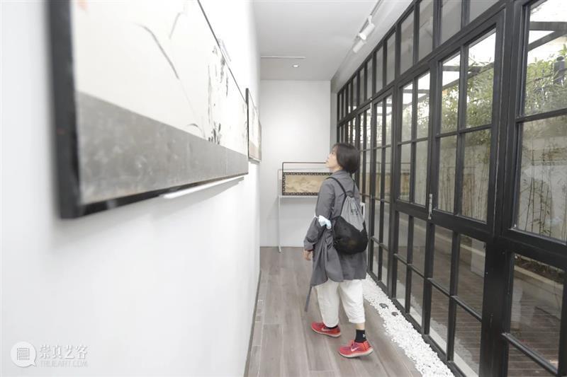 屏风几曲画生姿 • 特展 开幕回顾   芊荷 屏风 画生姿 芊荷 现场 上海 艺术 空间 城市 艺术家 创造力 崇真艺客