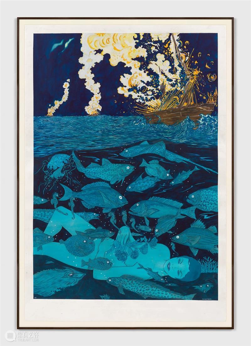 卓纳纽约|马塞尔·扎马(Marcel Dzama)个展《热爱太阳的人》 马塞尔 Dzama 扎马 卓纳 个展 纽约 热爱太阳的人 太阳 日期 时间 崇真艺客