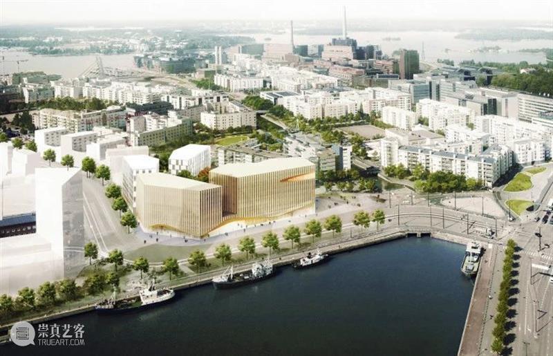 建筑丨芬兰Wood city,「Supercell」的木结构总部大楼 Supercell 芬兰 总部 大楼 city 木结构 建筑 上方 中国 舞台 崇真艺客