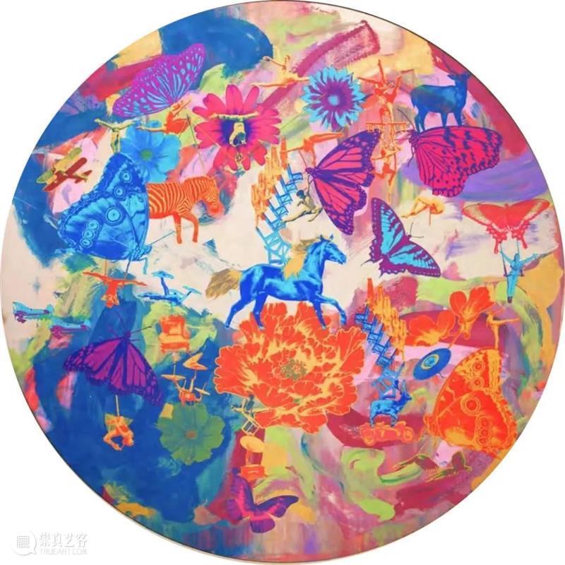 """欢迎来到""""生活·范特西""""展览的2.0升级版本 生活 范特西 版本 艺术家 蔡赟骅 状态 时间 艺术 形态 画作 崇真艺客"""