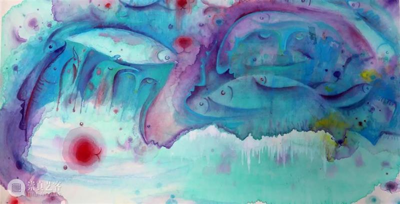"""【展讯】个展开幕   青年艺术家九多打造的""""梦园幻境"""" 梦园 幻境 艺术家 青年 个展 展讯 上海 抱朴美术馆 信息 时间 崇真艺客"""