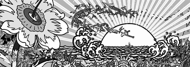"""OCAT西安馆   """"飒蜜的花园""""线上填色工作坊第一期征集中! OCAT 西安 工作坊 飒蜜 花园 线上 艺术家 卜桦 个展 奇迹般 崇真艺客"""