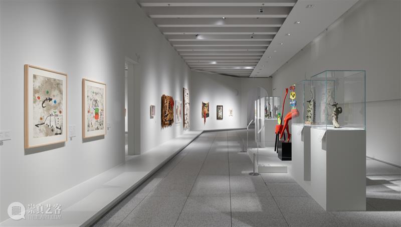 MAP展览| 胡安·米罗:诗意的可能 胡安·米罗 诗意 可能 MAP 女人 小鸟 星星 展期 展厅 美术馆 崇真艺客