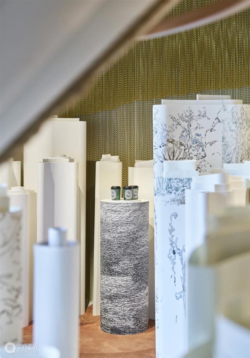 即刻预约|限时一个月,diptyque艺术展览正式来袭,限定下午茶同步上线! 艺术 下午茶 巴黎 旅程 起源 纸艺 卷轴 迷宫 形式 旧书页 崇真艺客