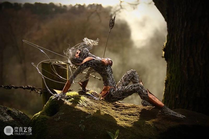 【IFA-艺术赏析】Robin Wight| 钢丝的雕塑作品 雕塑 钢丝 艺术 作品 IFA Wight 英国 雕塑艺术 艺术家 童话 崇真艺客