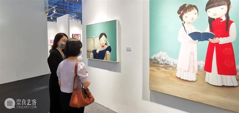 博览会|2021艺术深圳 DAY3: 展览现场 艺术 深圳 现场 博览会 ART SHENZHEN 公众 空间 展位 艺术家 崇真艺客