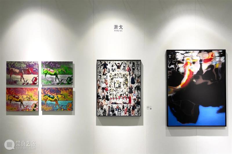 艾米李画廊·艺术深圳 | 展览现场   展位C18 艾米 李画廊 展位 现场 艺术 深圳 Day 公众 002021年 地点 崇真艺客