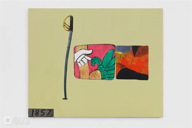 墨西哥国家艺术博物馆|德克斯特·达尔伍德:这不属于我 德克斯特 墨西哥 国家艺术博物馆 达尔 伍德 达尔伍德 Dexter Dalwood MUNAL 个展 崇真艺客