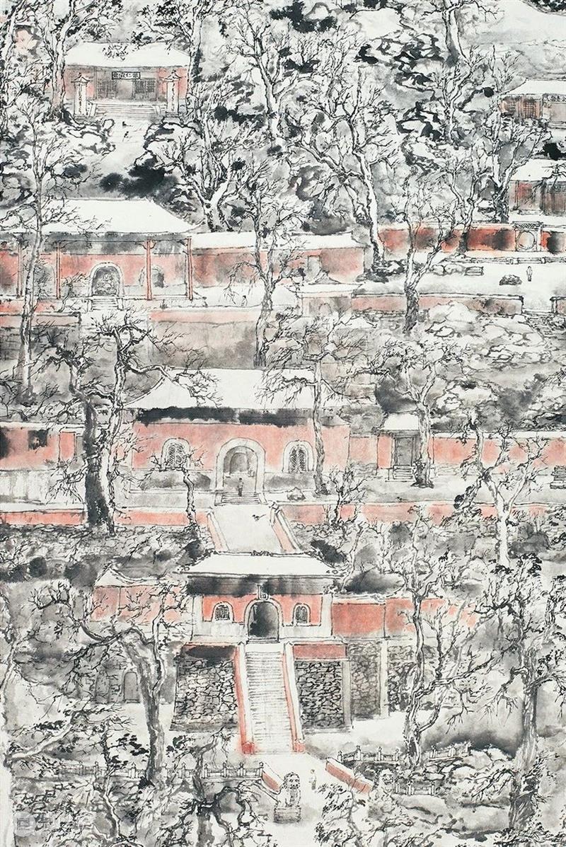 「雙桂軒展訊分享」海印梵鐘——林海鐘作品展 海印梵鐘 林海鐘 作品展 雙桂軒展訊 北京畫院美術館 二層展廳對公眾 展覽 北京 中國美術學院主辦 作品 崇真艺客