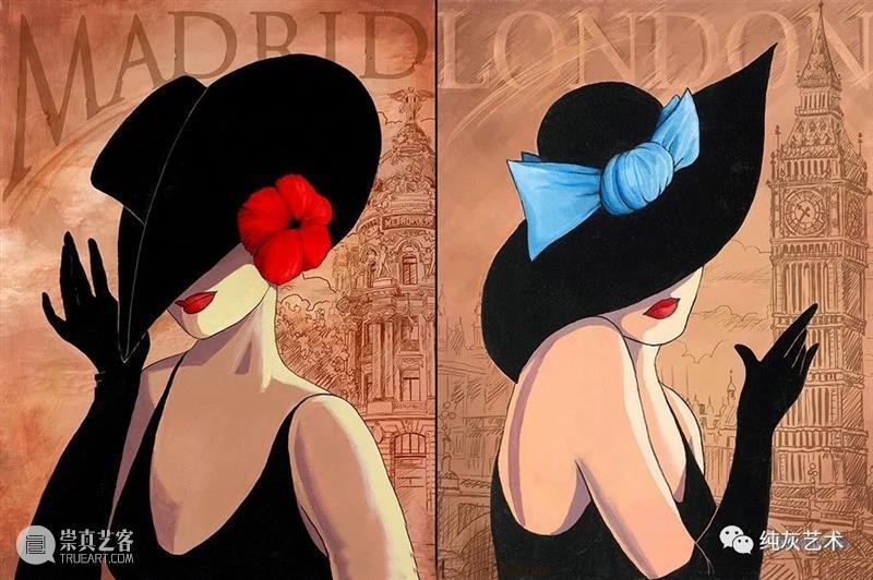礼帽,风情万种的魅力 礼帽 风情 魅力 Flirty Hat 系列 画作 灵感 母亲 照片 崇真艺客