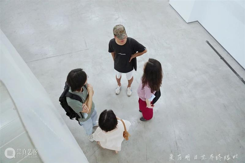 【GCA开幕现场】《爱在明日世界终结时》 世界 现场 GCA 上方 重庆 星汇 当代美术馆 gca 帷幕 刹那 崇真艺客